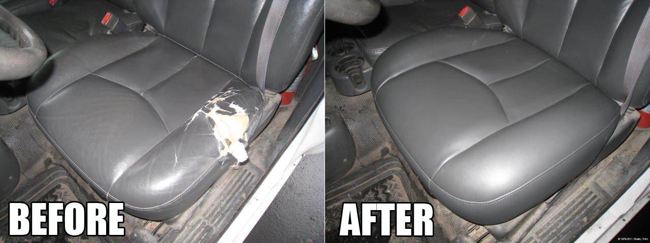 Shelby Trim » Seat Repairs